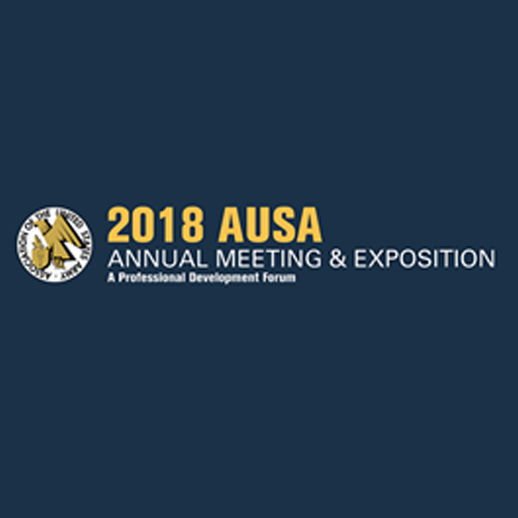 Oct 08th, 2018 - AUSA Annual Meeting & Exhibition